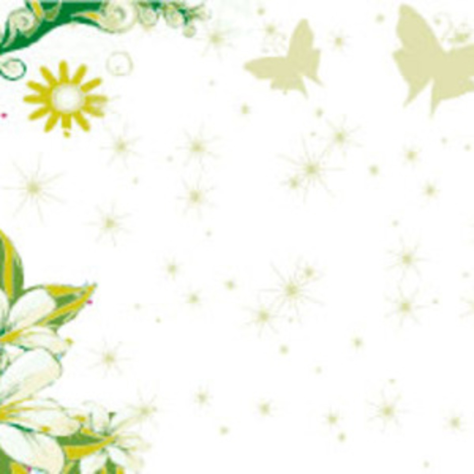 Butterfly Nature Vector Background