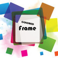 Colorful Frame Vector In Colorful Vector Graphic