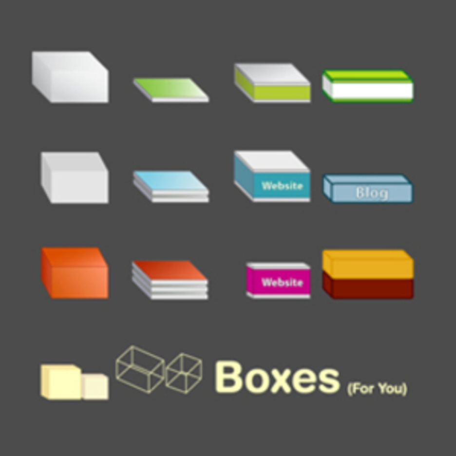 Vector Boxes (variety) - Free