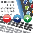Free Web Button Vectors