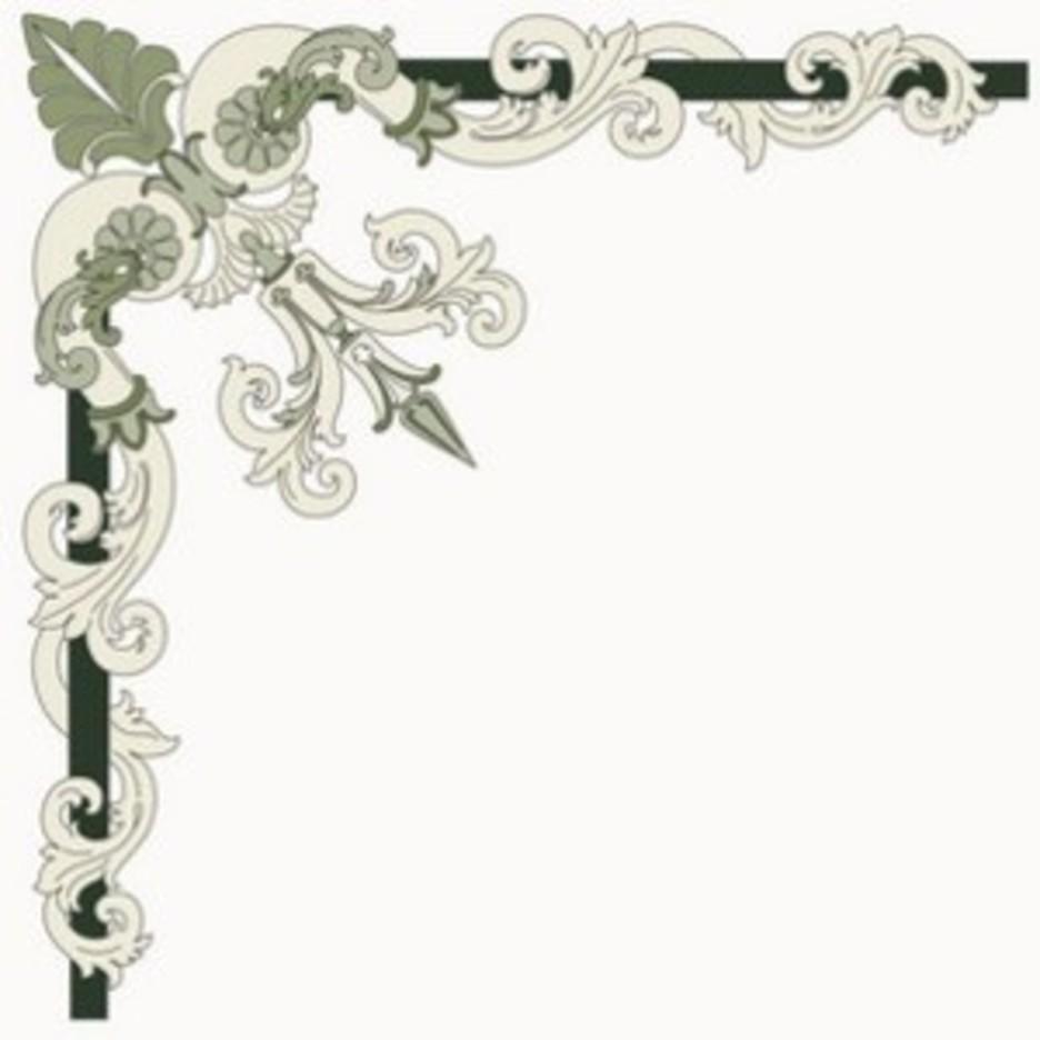 Corner Ornament - Italian Style