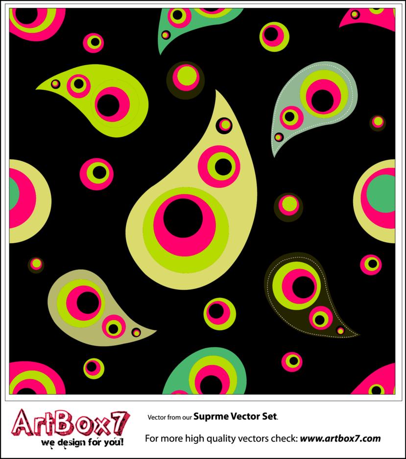 Seamless Patterns - Paisley