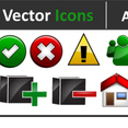Adobe 4 Less Free Vector Icons