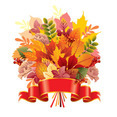 Autumn Leaf Bouquet