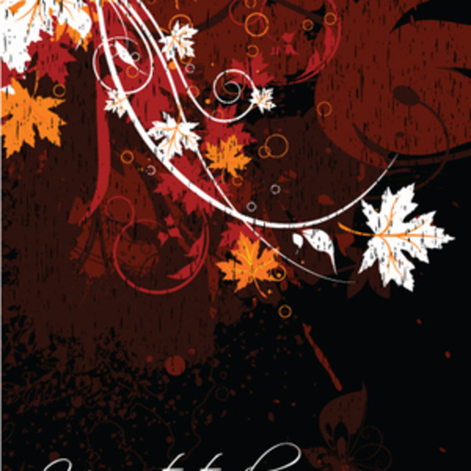 Floral Grungy Background