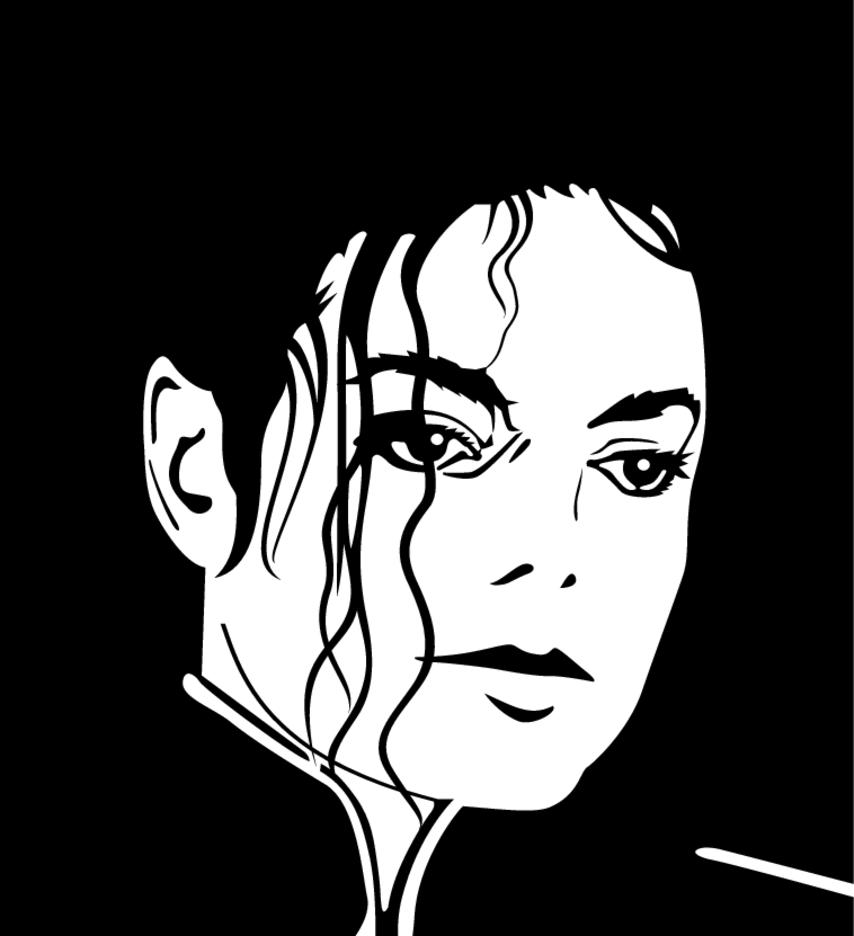 Michael Jackson Vector Image