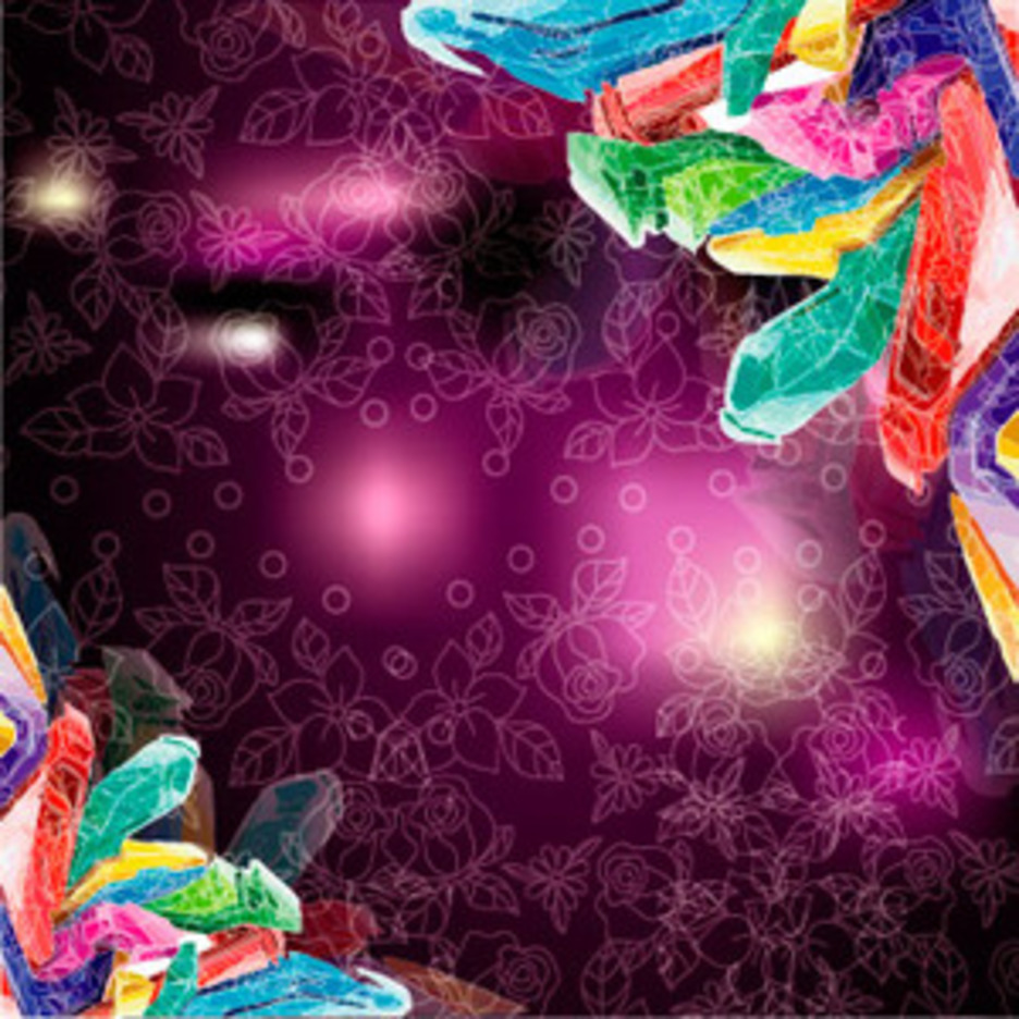 Colored Cristol Vector Design