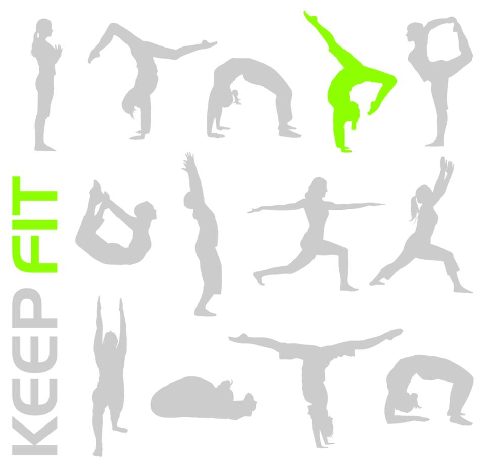 Free Keep Fit Vectors