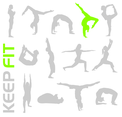 Free Keep Fit Vectors