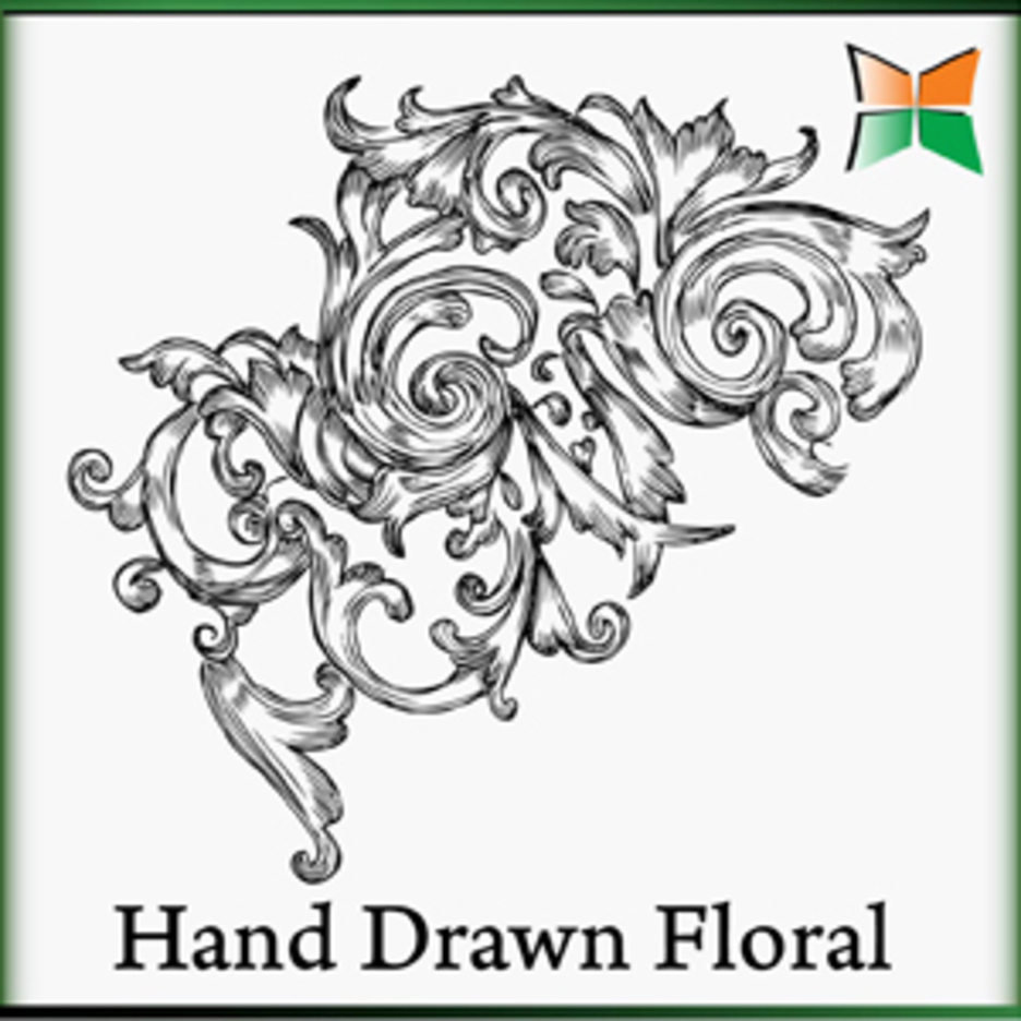 Hand Drawn Floral-3