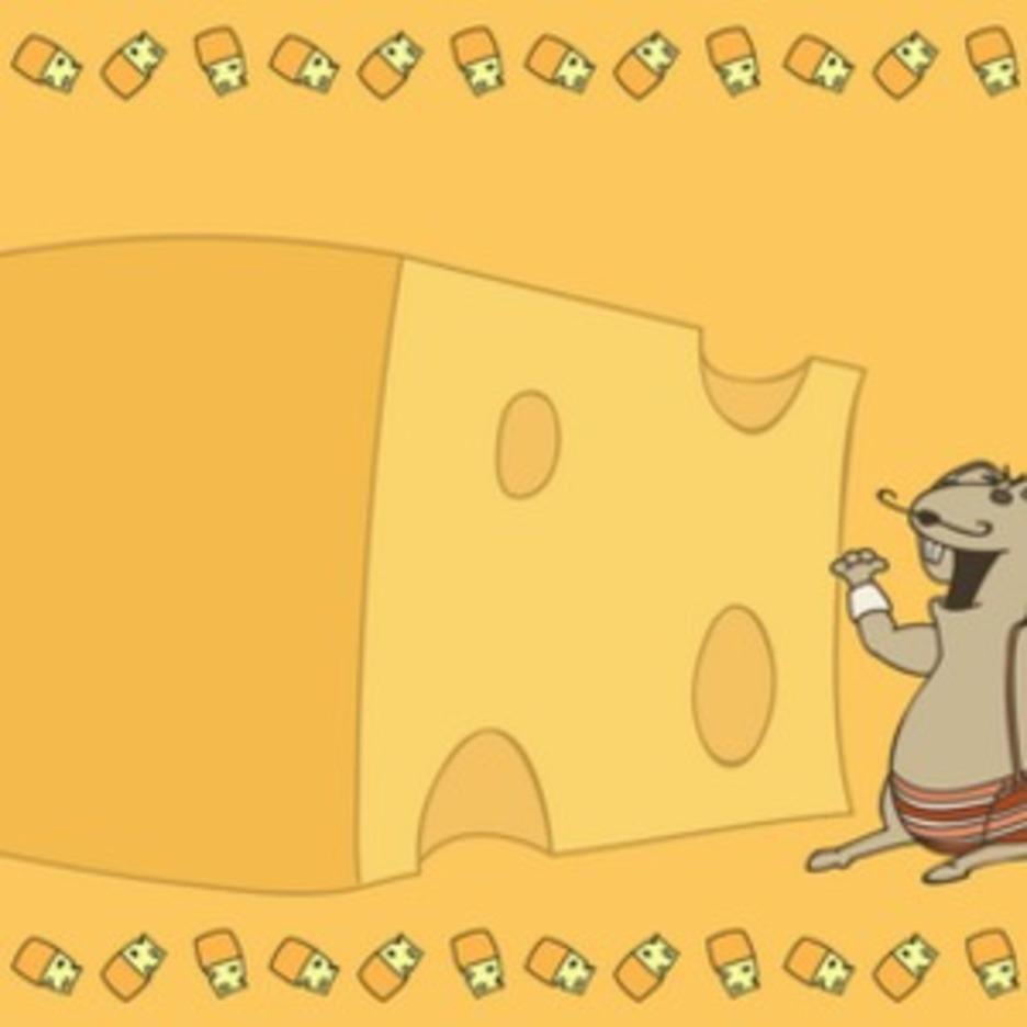 Cheesy Party Invitation Card 2