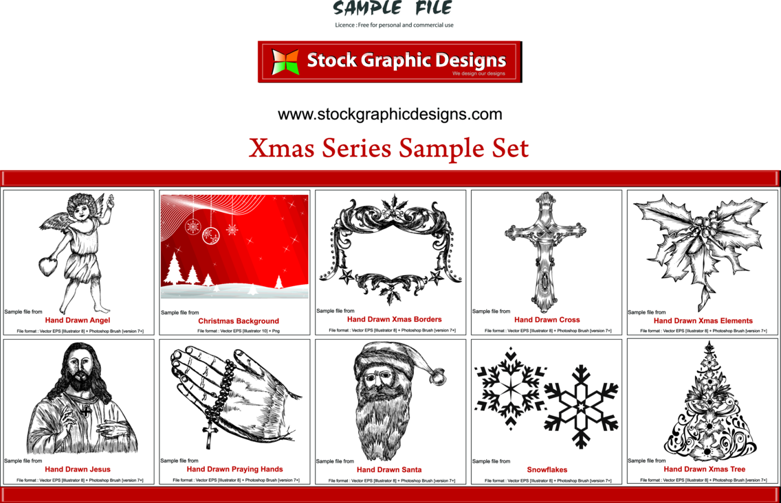 Xmas Vector & Brush Packs