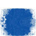 Xmas Blue Vector Background