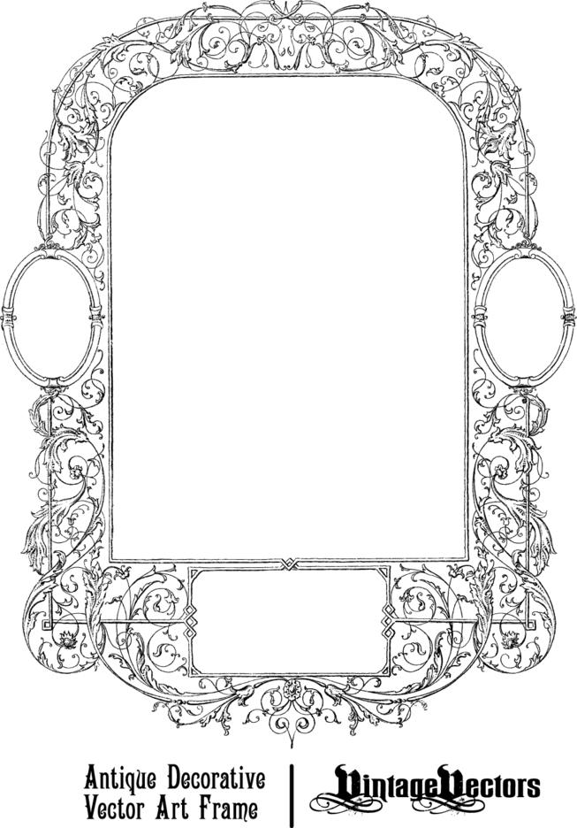 Antique Decorative Frame