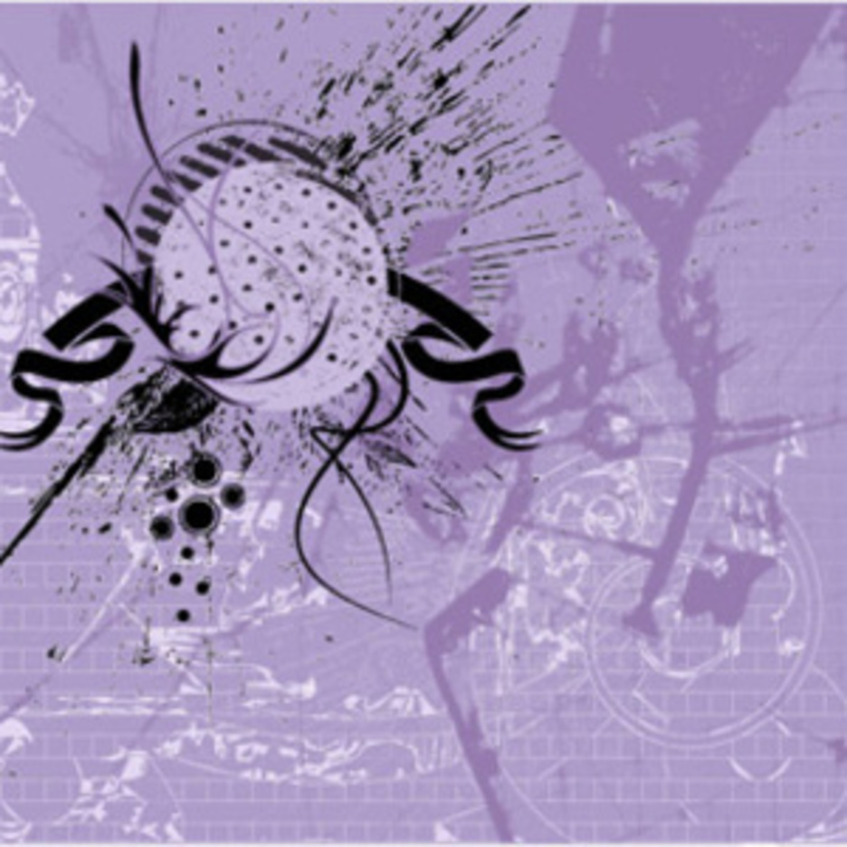 Abstract Violet Grunge Background