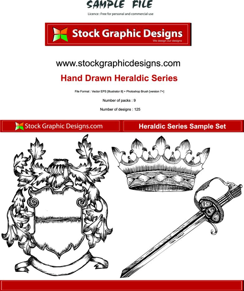 Hand Drawn Heraldic Designs