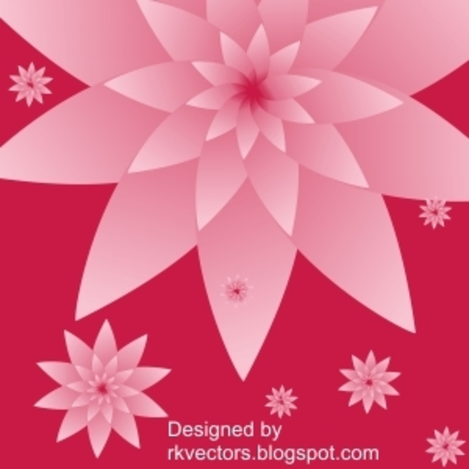 Vector Flower Backgrounds