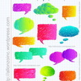 Hand Drawn Speech Bubbles 2