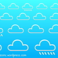 Cloudy Background 1