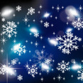 Cold Winter Vector Graphic