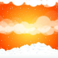 Sky Clouds Vector Art