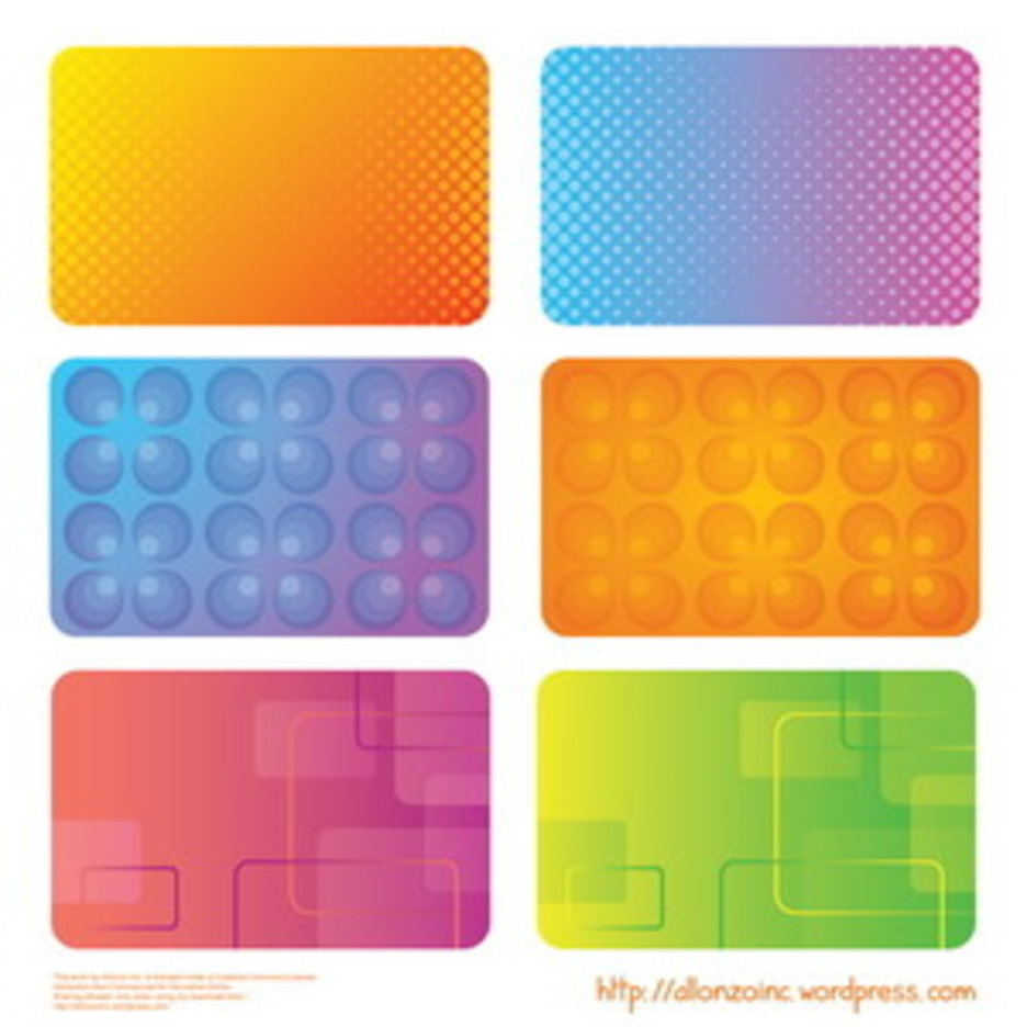 Colorful Business Cards 2