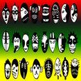 Crazy Rasta Masks
