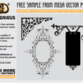Free Floral Ornaments