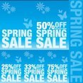 Spring Sale Signs