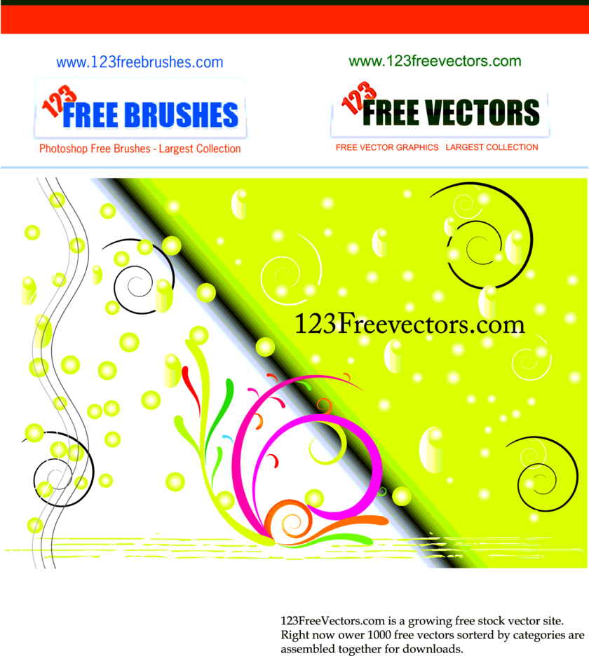 Free Vector Background-11
