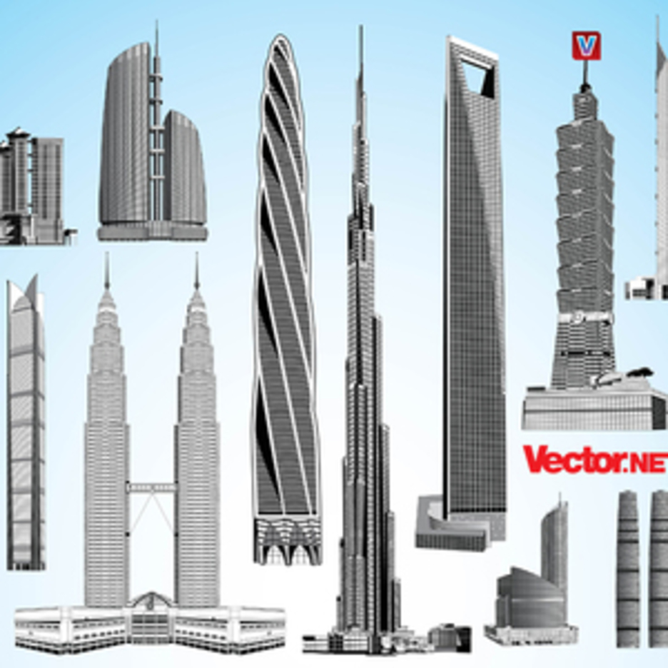 Skyscraper Vector Pack 2.