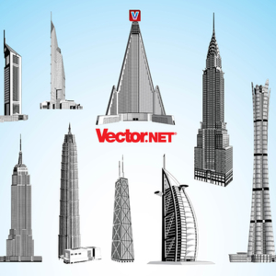 Skyscraper Vector Pack 3.