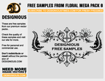 Free Floral Mega Pack 6 Sample