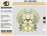 Crest T-shirt Design