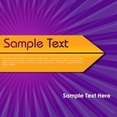 Attractive Abstract Vector Background With Sample Text