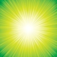 Green Sunbeam Background