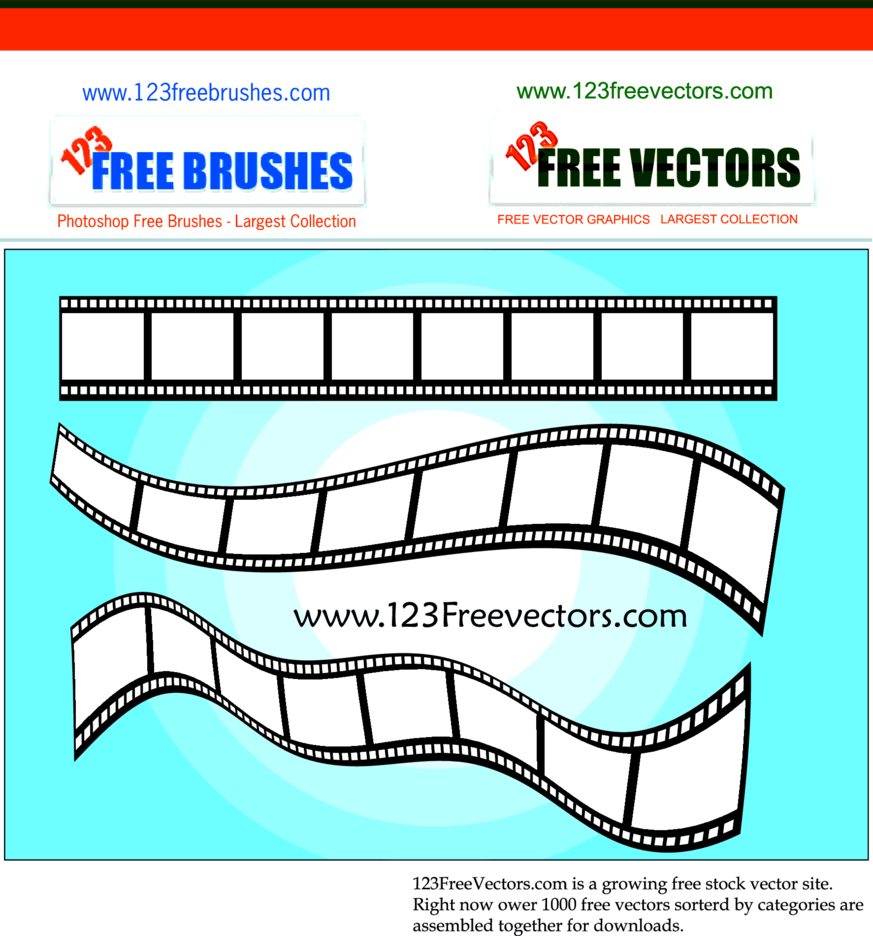 Vector Film Strip-2