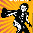 Iconic Cult Movie Vector Art: Dirty Harry