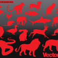 Animal Silhouette Vector Art Pack