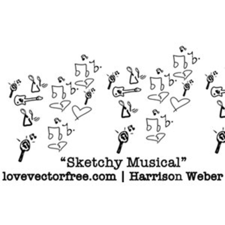 Sketchy Musical Icons