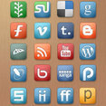 Free Elegant Social Media Icons Set