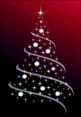 Free Christmas Tree Abstract Vector