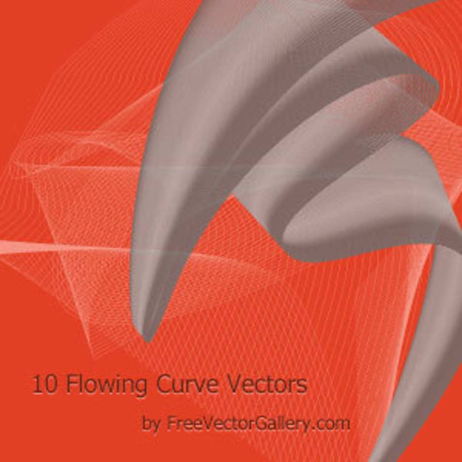 Flowing Curve Vectors