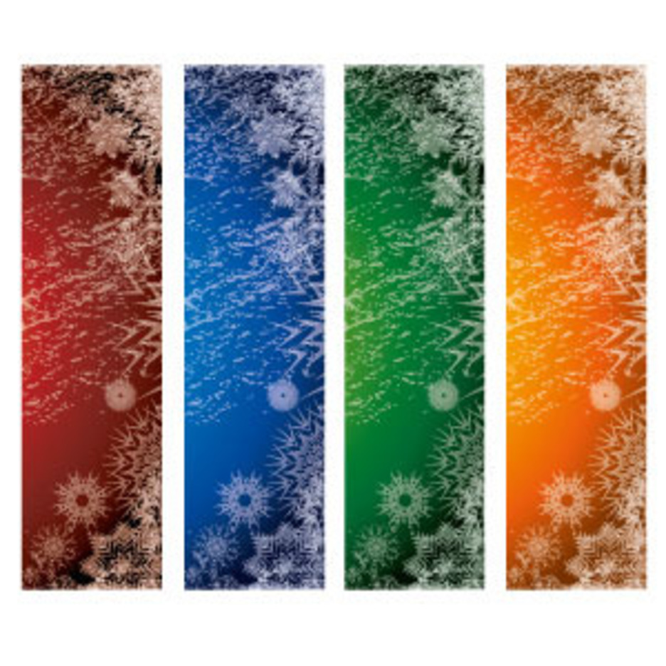 Xmas Vector Banners Set 2