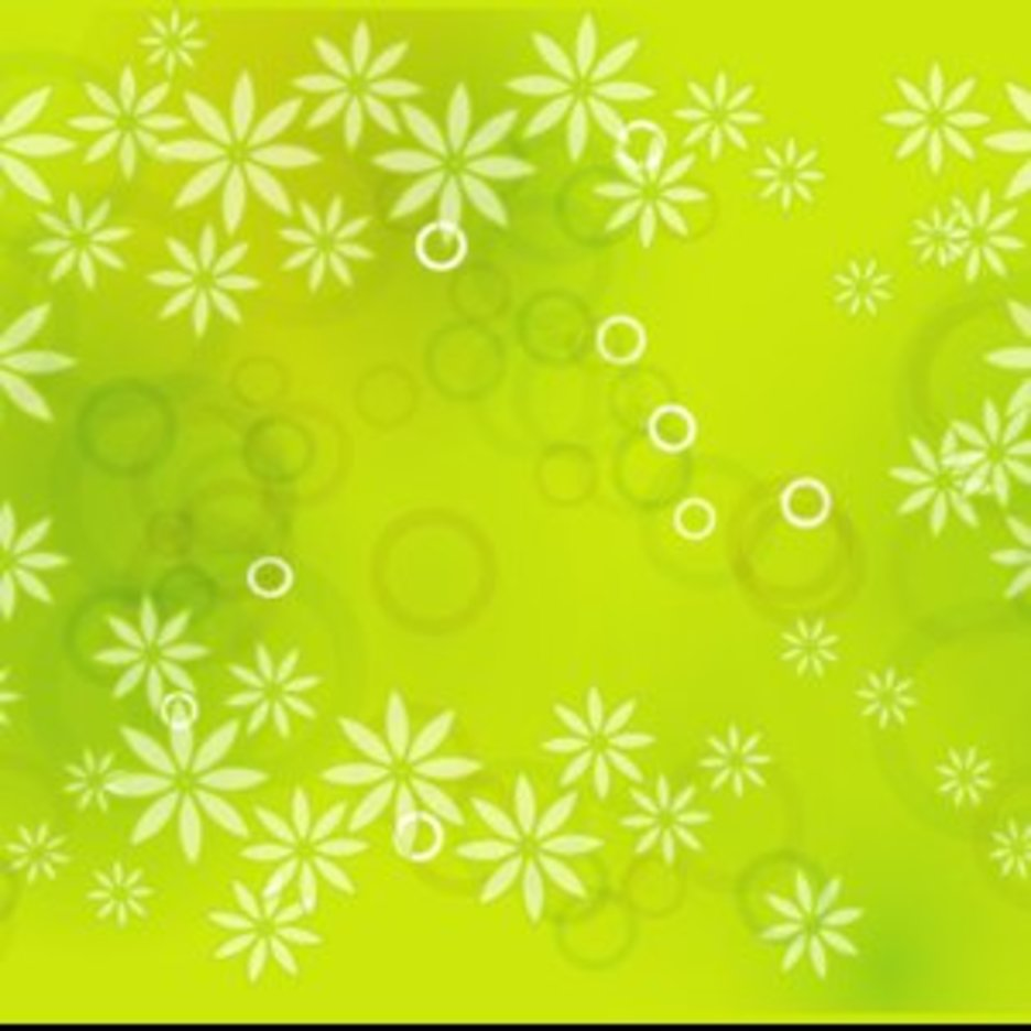 Floral Vector Graphique Background