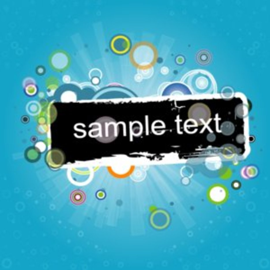Banner Vector Graphique