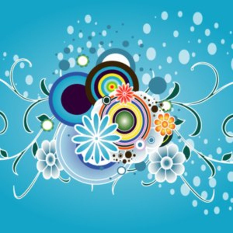 Colorful Vector Graphic Art