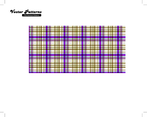 Squared Plaid Illustrator And Photoshop Pattern