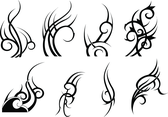 8 Tribal Vectors