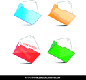 Set Of Folder And Document Icon